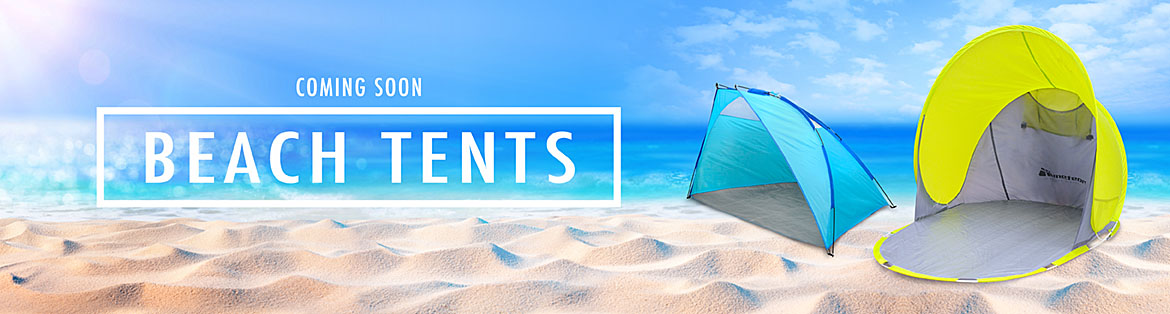 Beach tents coming soon
