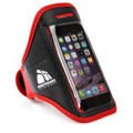 Arm phone wallet METEOR red