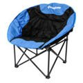 King Camp Moon Armchair blue