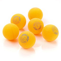Meteor Double Circle table tennis balls - yellow