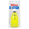 Shuttlecocks WILSON WRT6048WH 3 pcs. yellow