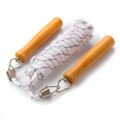 Skipping rope Meteor 3m with wooden handles