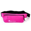 Ultra-thin waist bag METEOR pink
