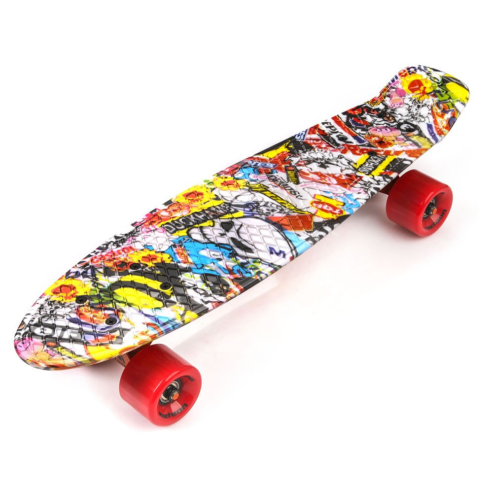 Bulk Skate Towels: PLASTIC SKATEBOARD METEOR MULTIBOARD Cartoon