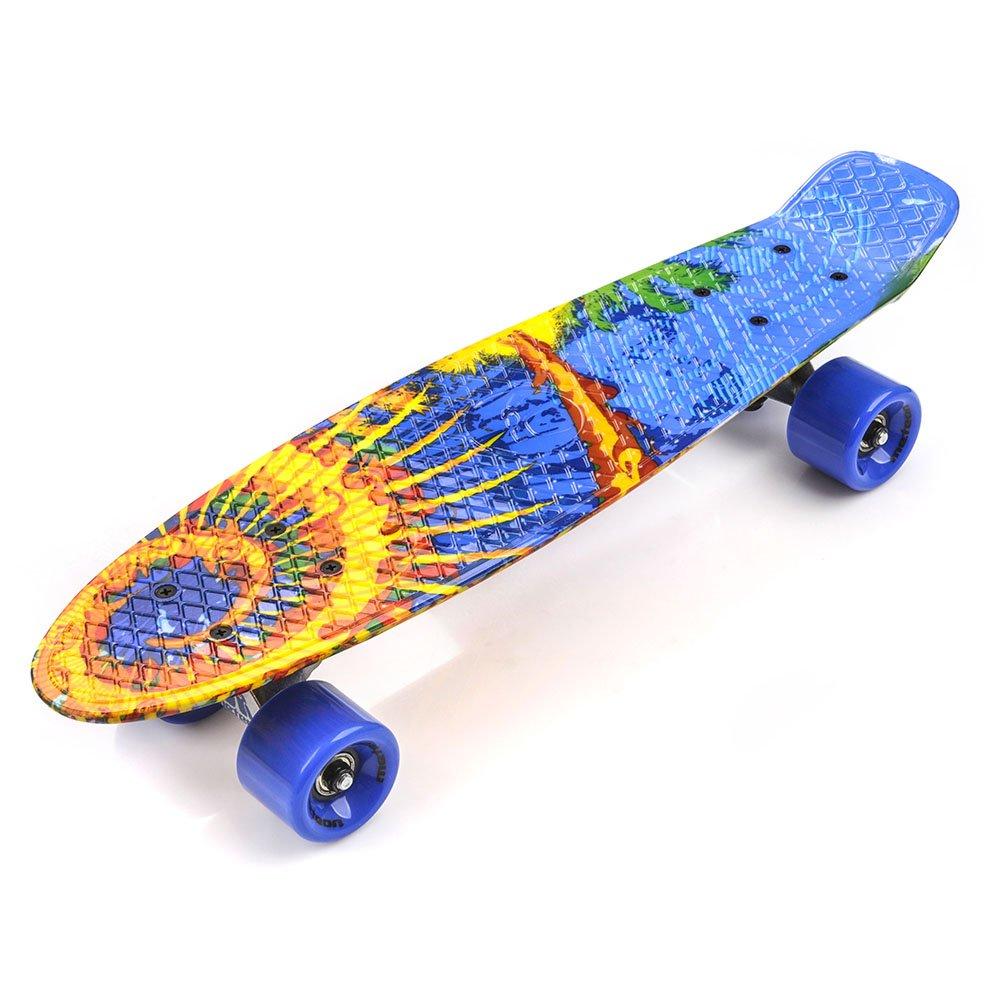 Plastic Skateboard Meteor Multiboard Hawaiian Sport
