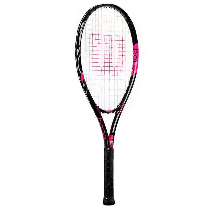 Tennis racket WILSON HOPE RKT2 WRT3243002 for women, black ...