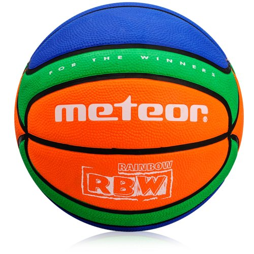 BASKETBALL METEOR TRAINING #5 orange/green/blue
