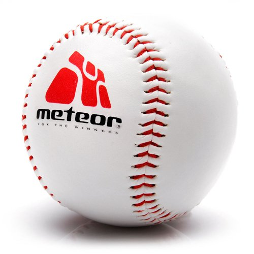Ball Baseball Meteor synthetic leather, rubber, 226g