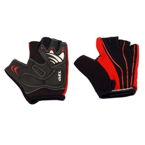 Bicycle GEL gloves Meteor Bike BX-1 red