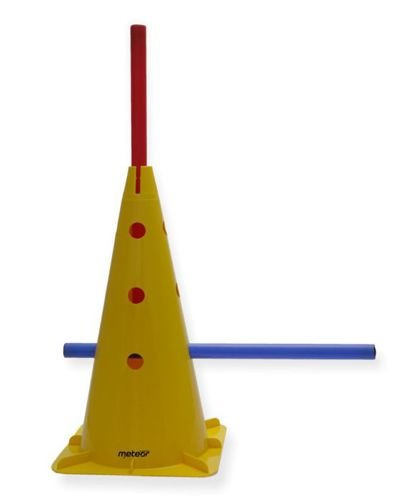 Cone 46 cm with holes Meteor blue