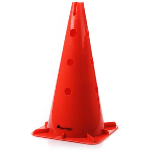 Cone 46 cm with holes Meteor red