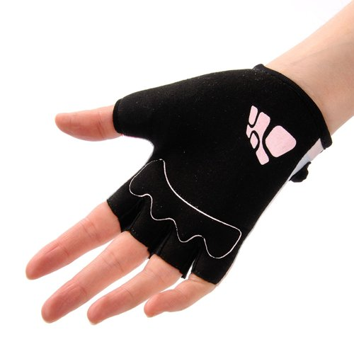 Cycling gloves METEOR Kids Dots