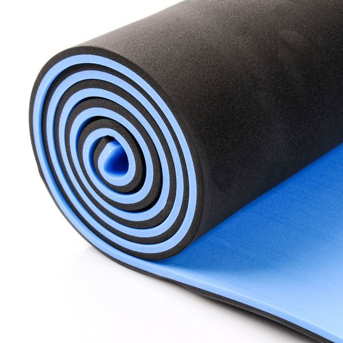 EVA foam pad 2-layer Meteor black-blue 10 mm