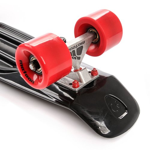 FISHBOARD METEOR black/red/silver