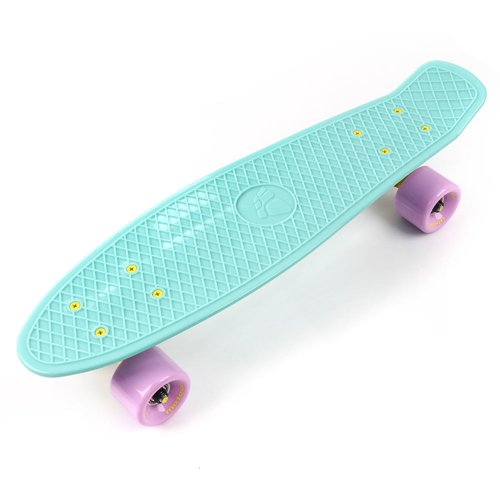 FISHBOARD METEOR mint/pastel pink/yellow