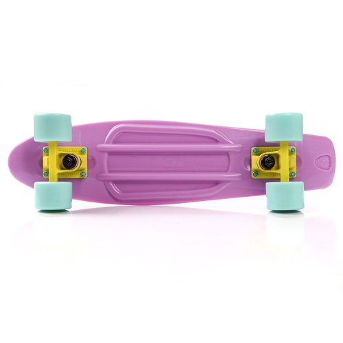 FISHBOARD METEOR pastel pink/mint/yellow