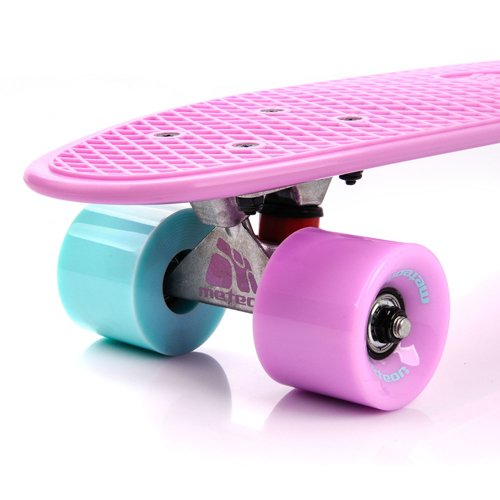 FISHBOARD METEOR pastel pink/minth/pink and silver