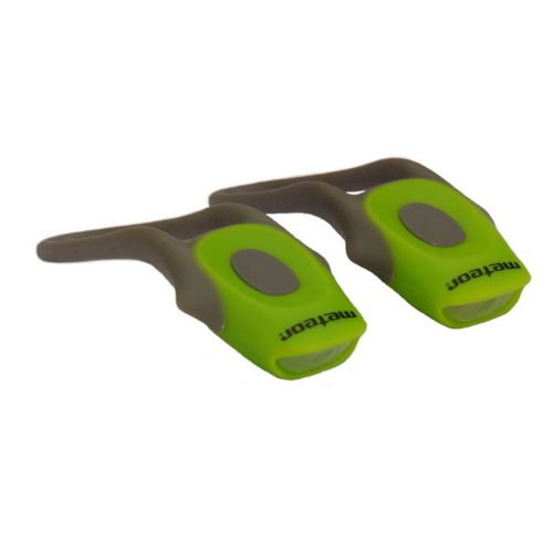 FROG BIKE LIGHTS SET GREEN (2 pieces)