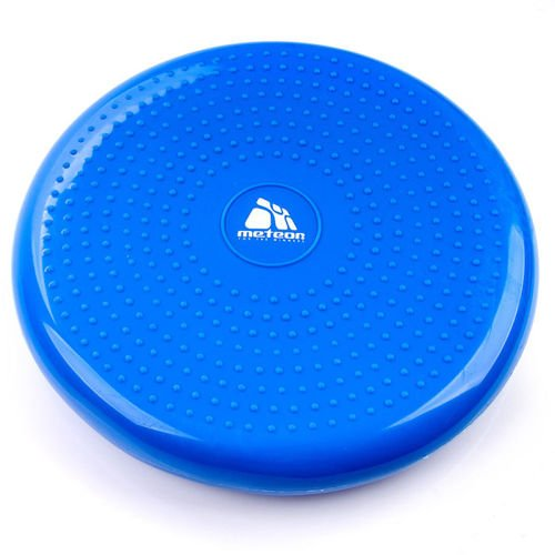 Feet massage disc METEOR BLUE with a pump