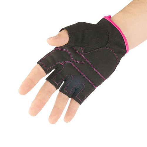 Fitness gloves METEOR GRIP LADY PINK