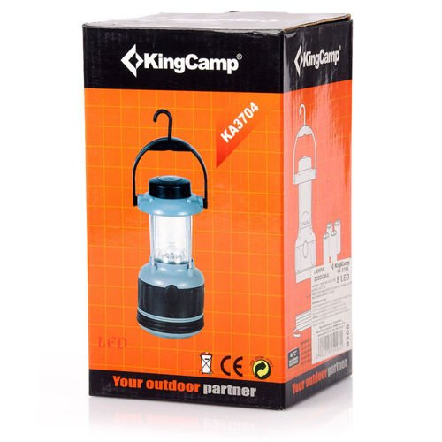 King Camp 8 LED lamp with compass