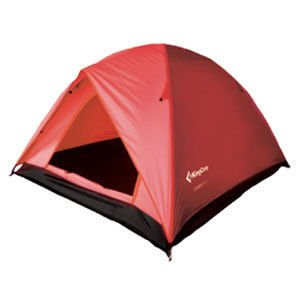 King Camp Tent Family 2 plus 1red