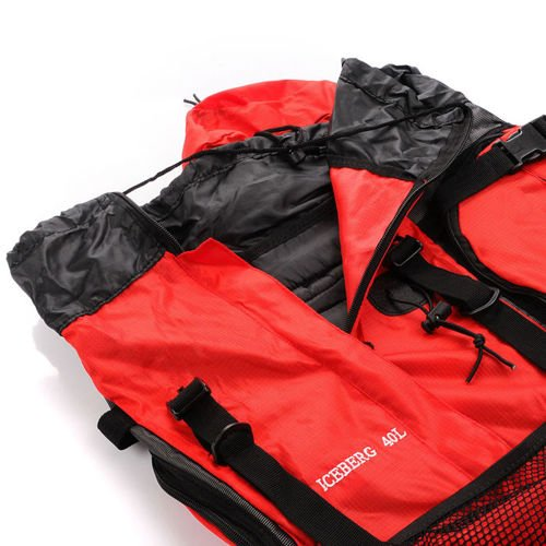King Camp backpack Iceberg 40 red