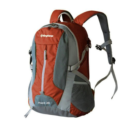 King Camp backpack Peach 28 red