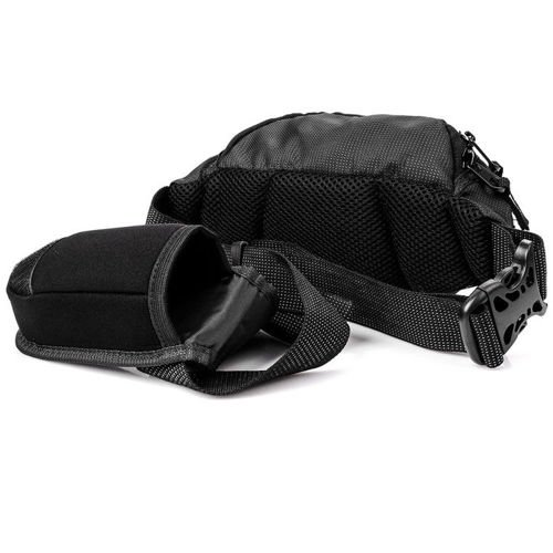 King Camp waist bag Bird black