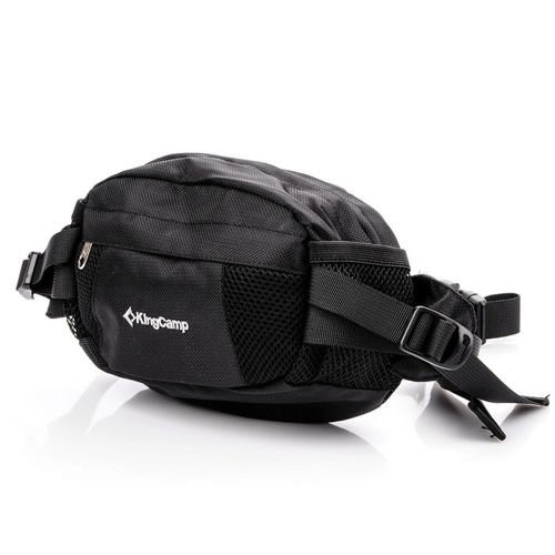King Camp waist bag Coral black