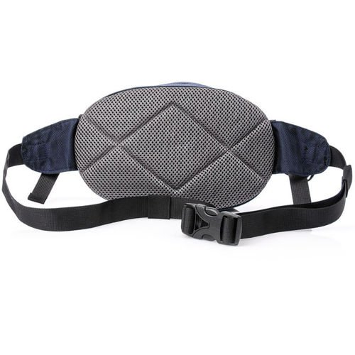 King Camp waist bag Coral blue