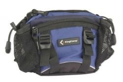 King Camp waist bag Fish blue