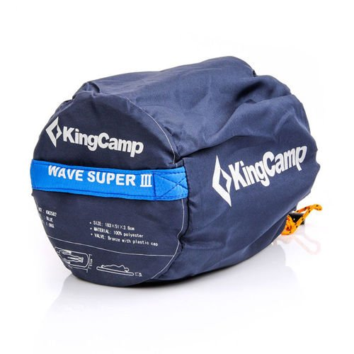 KingCamp Self-inflatable mat Wave Super III
