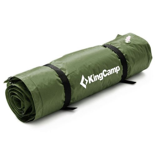 KingCamp self-inflantable mat with pillow  Basecamp L