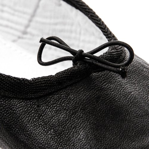 LEATHER BALLET SHOES METEOR black