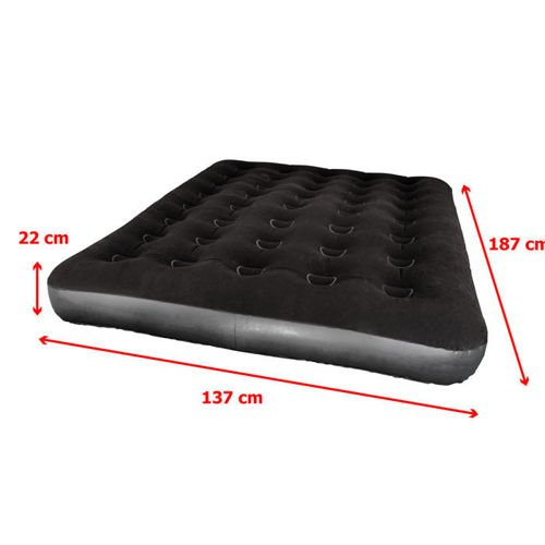 MATTRESS VELOUR METEOR DOUBLE 188 x 137 x 22 cm