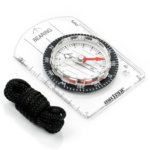 Meteor small compass with ruler