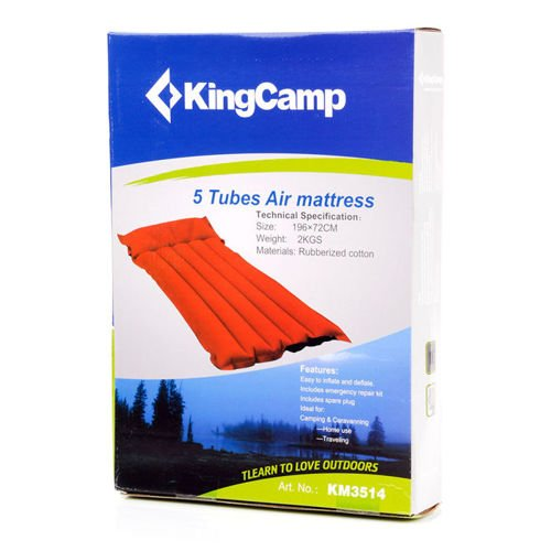 Rubber Mattress 5 tubes Meteor