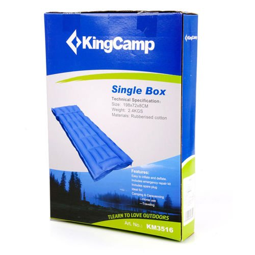Rubber Mattress Box 1 King Camp