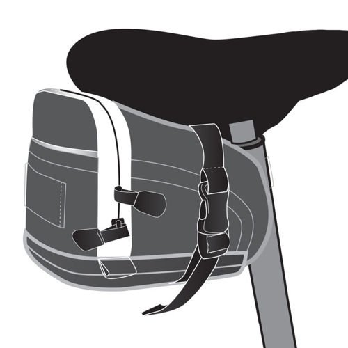 Saddle bike bagMETEOR