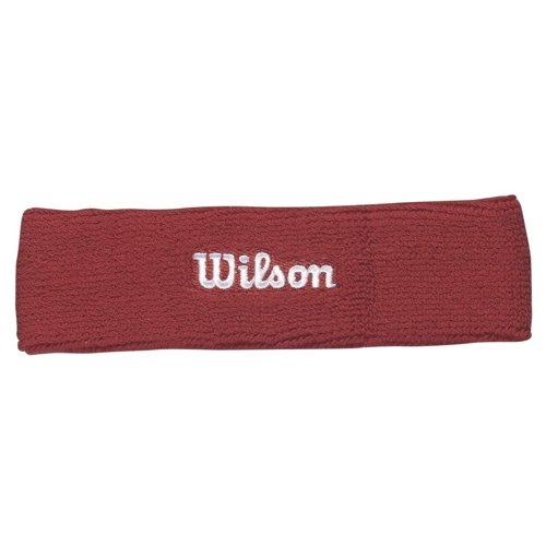 TENNIS HEADBAND WILSON WR5600170 red