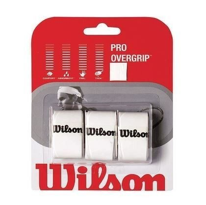 Tennis wristband WILSON white 2pcs