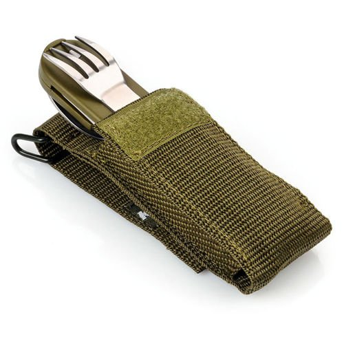 Travel cutlery set King Camp in cover