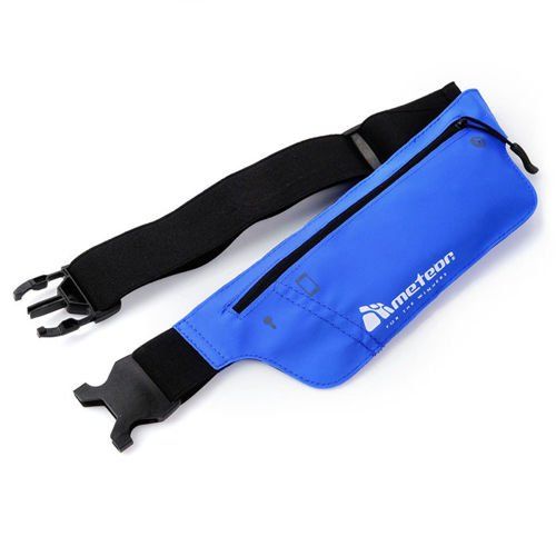 Ultra-thin waist bag METEOR blue