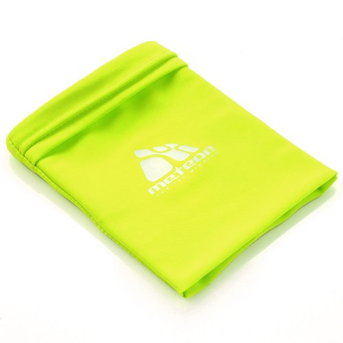 Wrist wallet neoprene METEOR yellow