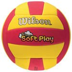 VOLEYBALL WILSON SUPER SOFT WTH3509XB yellow-red