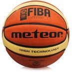 BASKETBALL METEOR TRAINING #7 FIBA brown/cream