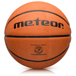CELLULAR TRAINING METEOR BASKETBALL #7 brown 8 panels