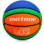 METEOR BASKETBALL BALL CELLULAR #5 orange/green/blue