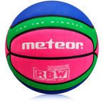 METEOR BASKETBALL BALL CELLULAR #7 pink/green/blue
